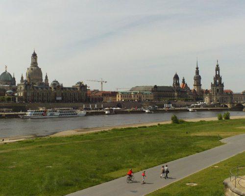 Panorama Altstadt Dresden
