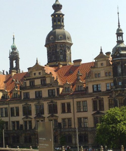 Residenzschloss Dresden, Westflügel