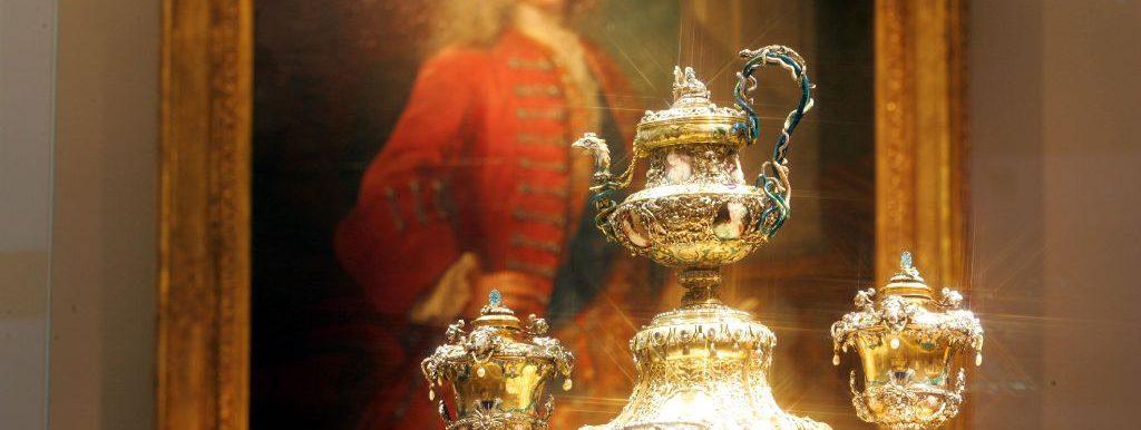 Neues Grünes Gewölbe - das Goldene Kaffeeservice August des Starken © Staatliche Kunstsammlungen Dresden