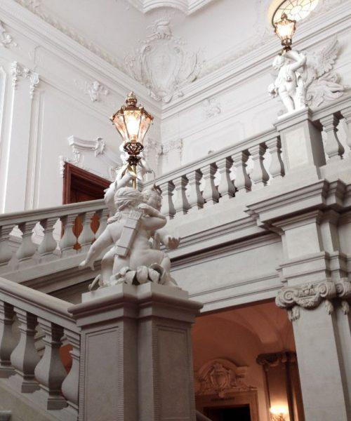 Die englische Treppe im Dresdner Schloss