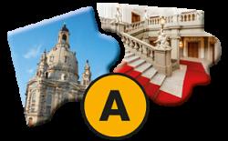 Tagesprogramm A: Stadtrundgang und Schlossführung Glanzlichter Dresdens
