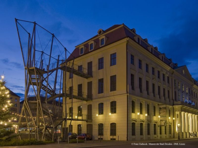 Stadtmuseum Dresden am Pirnaischen Platz © Frank Zadnicek / Museen der Stadt Dresden - DML Lizenz