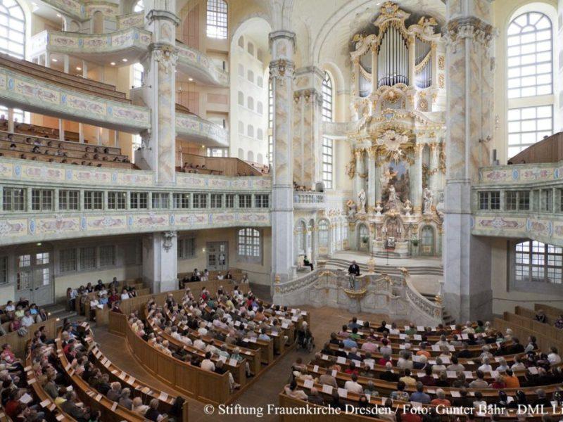 Gottesdienst in der Frauenkirche