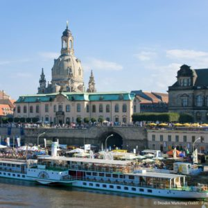 Stadtfest Dresden - Canaletto Blick