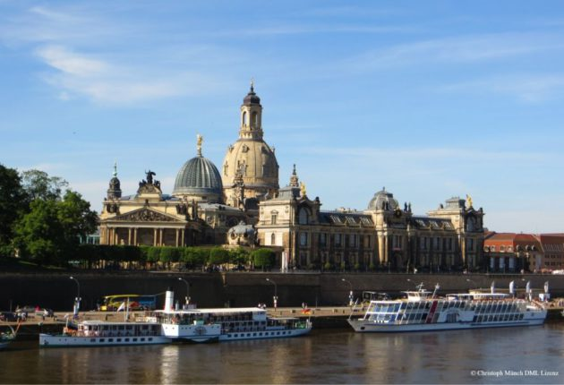 Panorama Altstadt Dresden © Christoph Münch DML Lizenz