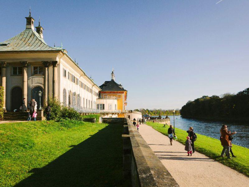 Schloss Pillnitz - Wasserpalais © Sven Döring, DML Lizenz