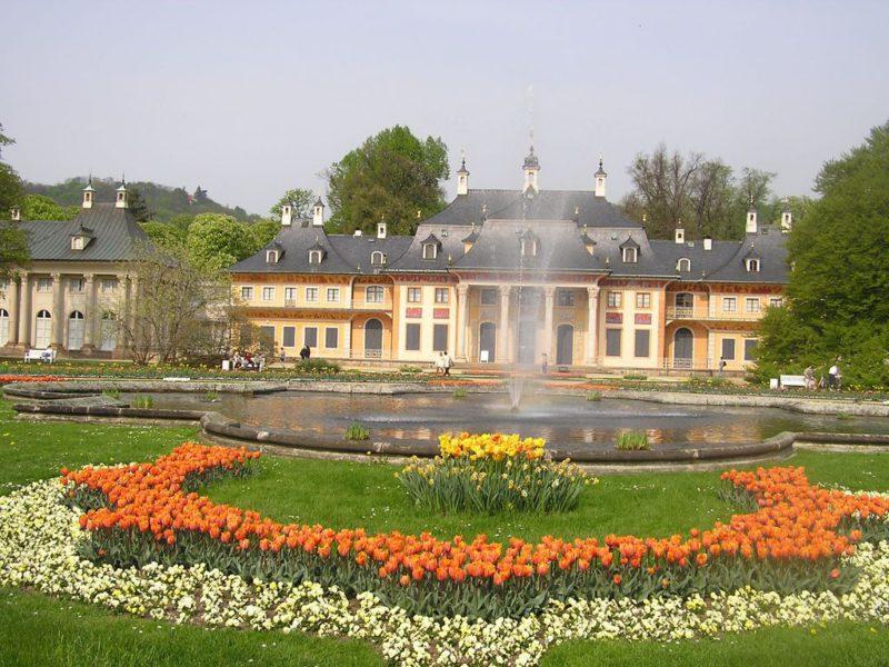 Pillnitz Bergpalais © Christoph Münch - DML Lizenz