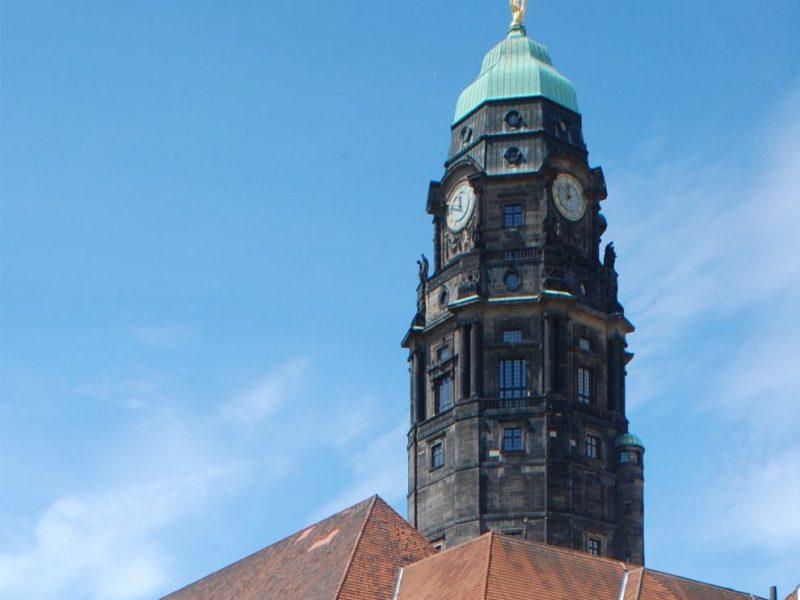 Turm Neues Rathhaus Dresden