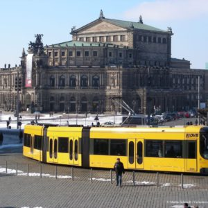 Semperoper und Theaterplatz