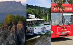 Unsere Stadt- und Museumsführungen Glanzlichter Dresdens kombinieren mit: Stadtrundfahrt, Schifffahrt, Museums Card, Sächsische Schweiz Ausflug und vieles mehr...