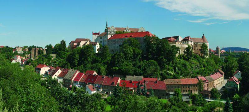 Sommerlicher Blick vom Protschenberg auf Bautzens Altstadt © Peter Wilhelm; Stadtverwaltung Bautzen