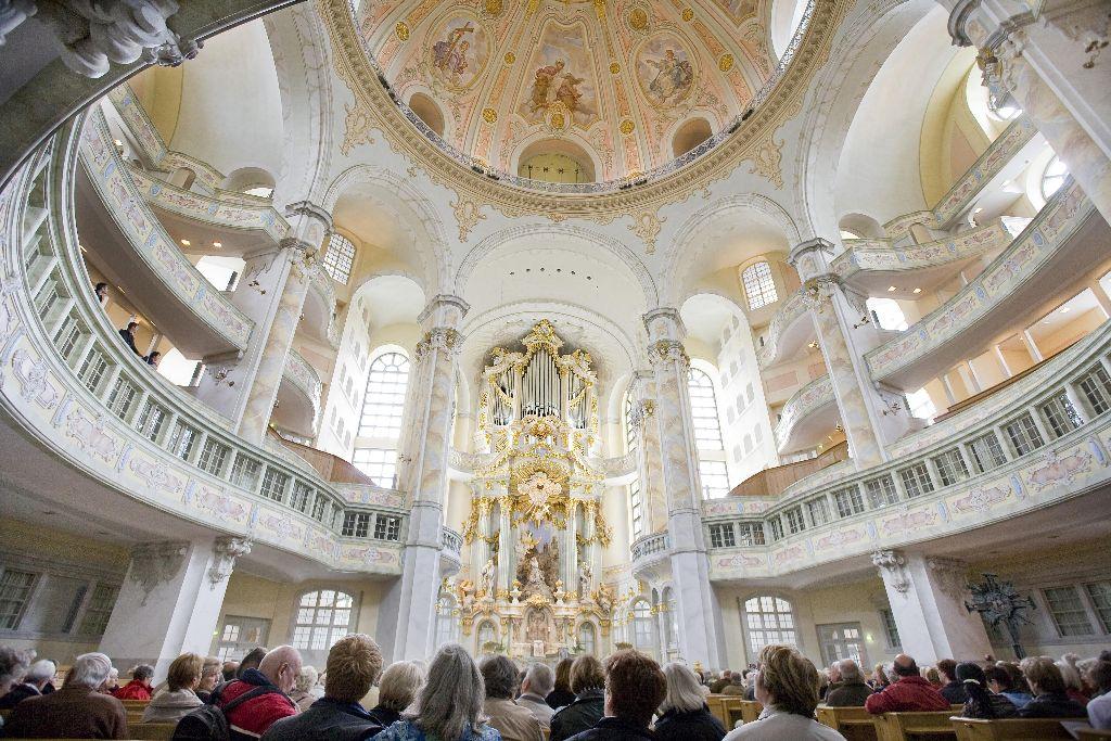 Konzert in der Frauenkirche Dresden Foto Fouad-Vollmer, Katja - Tourismus Marketing Gesellschaft Sachsen mbH