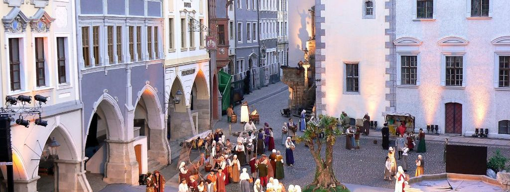 Görlitz Markt - Theaterfestival © Stadtverwaltung Görlitz Tourismus Marketing Gesellschaft Sachsen mbH