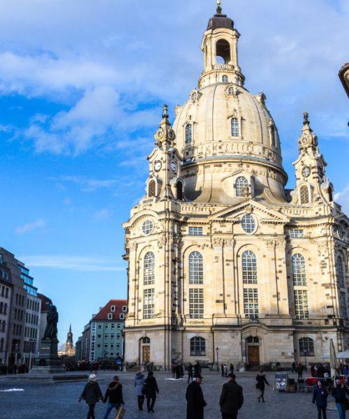 Frauenkirche und der Neumark