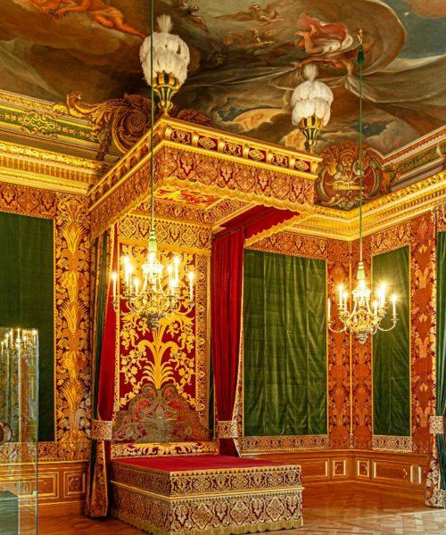 Paradeschlafzimmer, Paraderäume im Residenzschloss Dresden, © SKD, Foto: HC Krass
