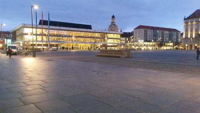 Altmarkt Dresden | Stadtrundfahrt Klassiker | Gruppenführung Dresden