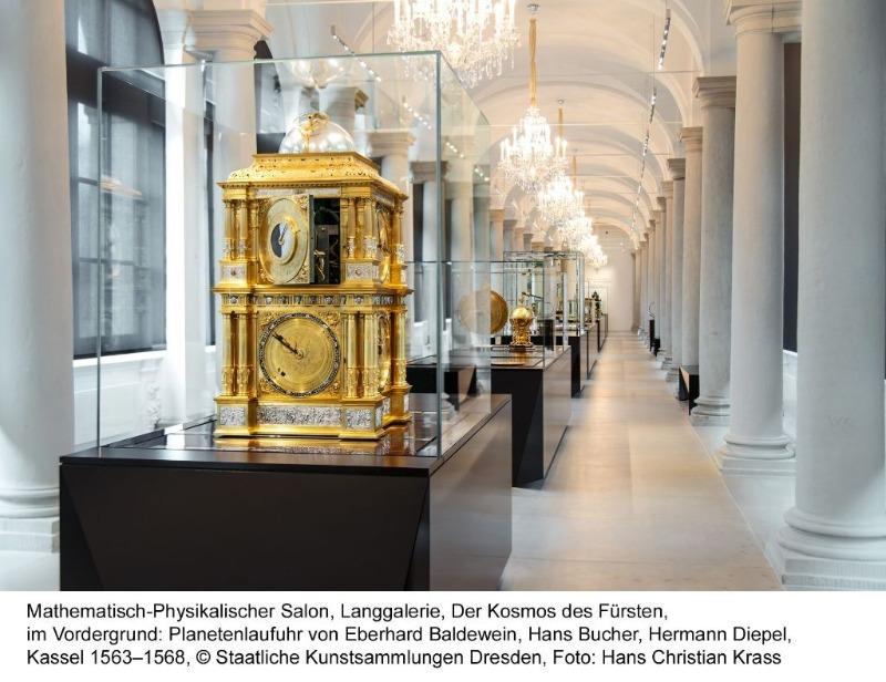 Mathematisch-Physikalischer Salon   Ausstellungen im Dresdner Zwinger   Gruppenführung