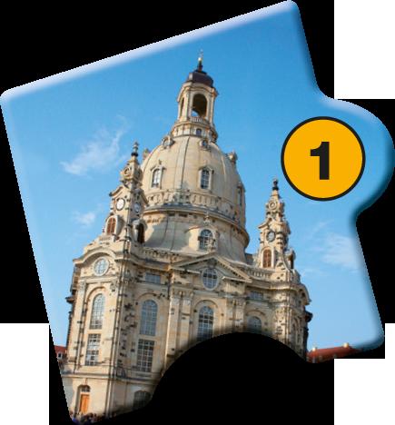 Puzzle Baustein 1 von Glanzlichter Dresdens: Stadtführung