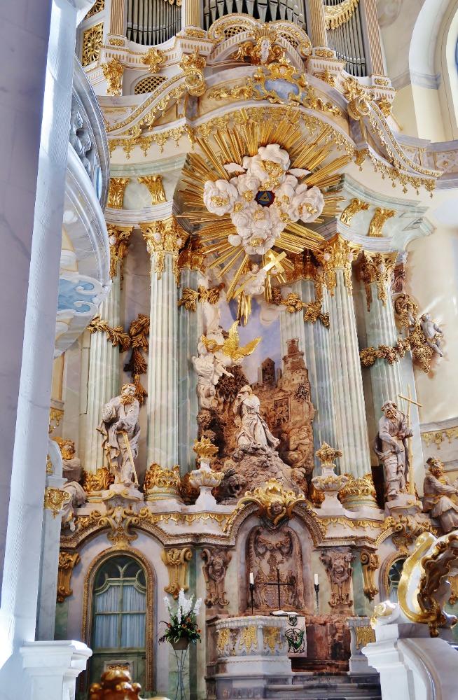 Innenbesichtigung Frauenkirche Dresden | Öffentliche Führungen