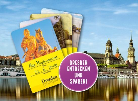 Dresden Welcome Cards - bei uns im Zusammenhang mit unseren Führungen zu buchen