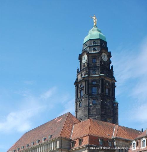 Neues Rathaus Dresden | Große Stadtrundfahrt | Gruppenführung