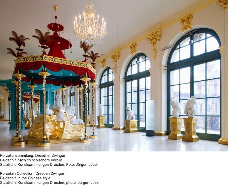 Besichtigung Porzellansammlung im Dresdner Zwinger   Gruppenführung