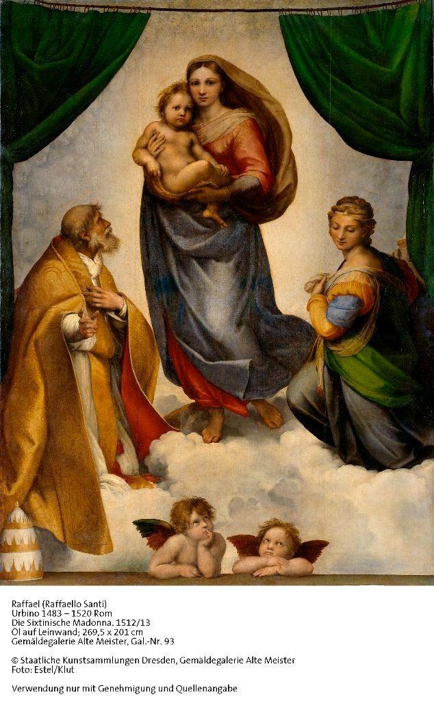 Rafaels S. Madonna Gemälde | Kunstausstellung Dresden | Gruppenführung