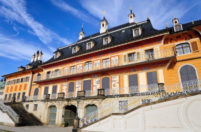 Besichtigung Schloss Pillnitz   Gruppenführungen in Dresden
