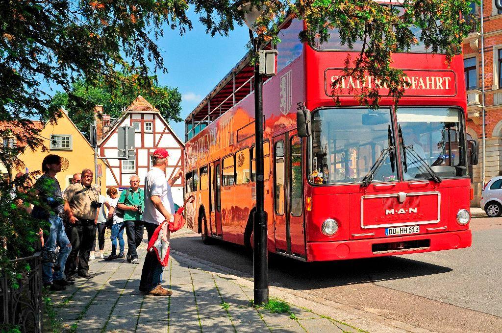 Stadtrundfahrt in Dresden | Doppeldecker Bus